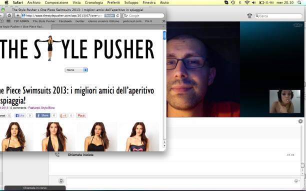 Skype pic.