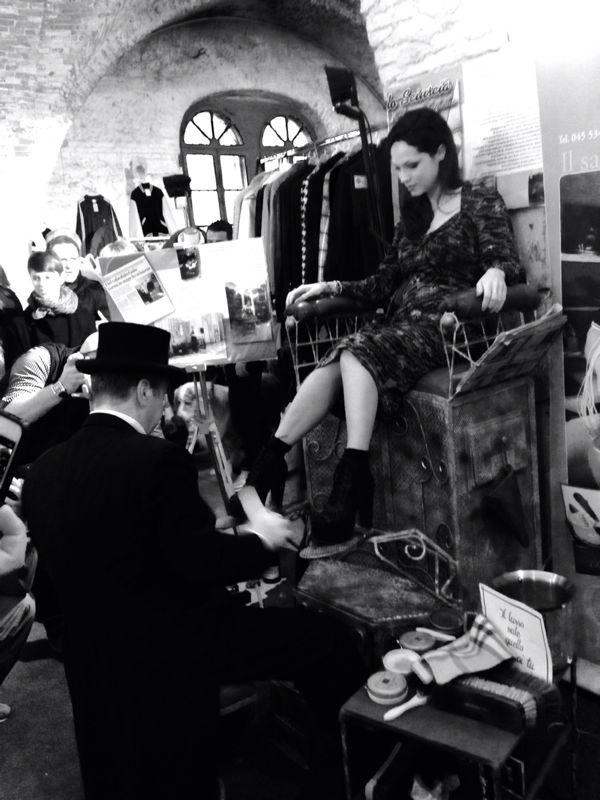 Arsenale Vintage Market - Gaio il Calzolaio!