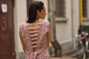Lavinia Biancalani Milan Men's Fashion week street style