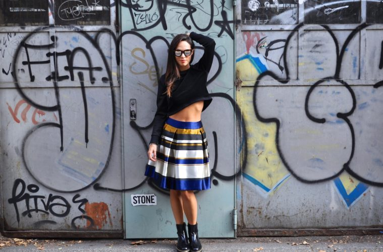 Lavinia Biancalani The Style Pusher Street Style Milan Fashion Week