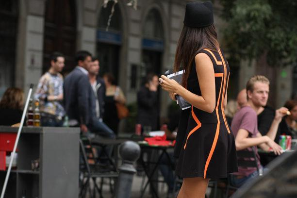 Milan Fashion Week Street Style Stefano Carloni Lavinia Biancalani The Style Pusher