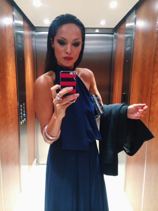 Lavinia Biancalani The Style Pusher Johnnie Walker London Symphony in blue