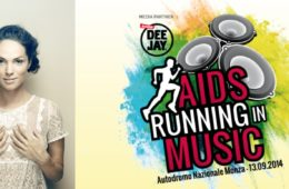 lavinia biancalani aids running in music radio deejay