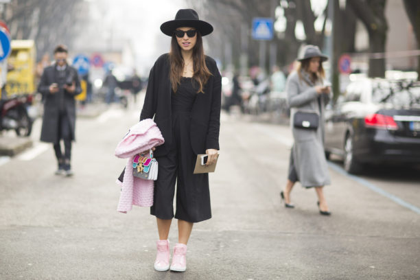 lavinia biancalani, the style pusher, milan fashion week, milan mens  fashion week, milano, street style, versace , borsalino