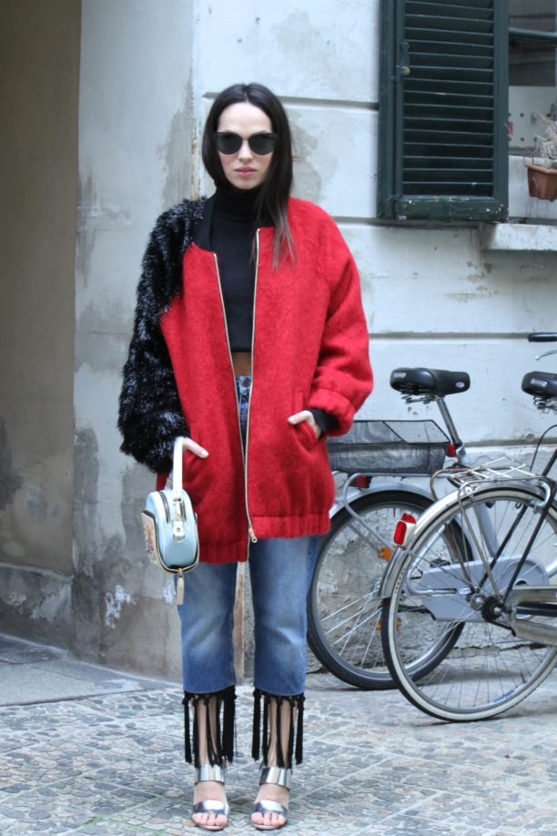 Lavinia biancalani, street style, milan fashion week, fashion week