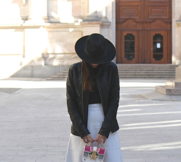 lavinia biancalani, street style, milan fashion week
