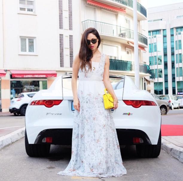 Lavinia Biancalani, Cannes, Jaguar, Givenchy