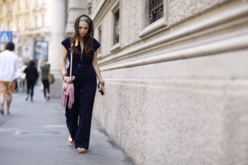 Lavinia Biancalani, street style, the style pusher, Milan Fashion Week