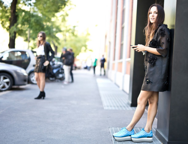 Lavinia Biancalani, The Style Pusher, Milan Fashion Week, Street Style, Hogan, Gem