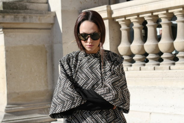 lavinia biancalani, the style pusher, paris fashion week, street style