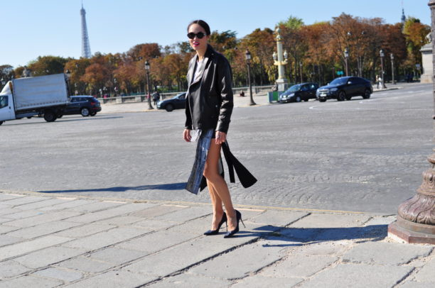 lavinia biancalani, guy Laroche, paris fashion week, street style, sergio rossi
