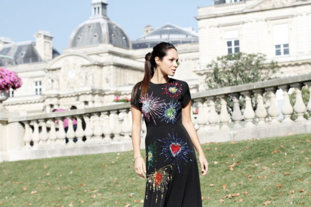 lavinia biancalani, gem, paris fashion week, street style