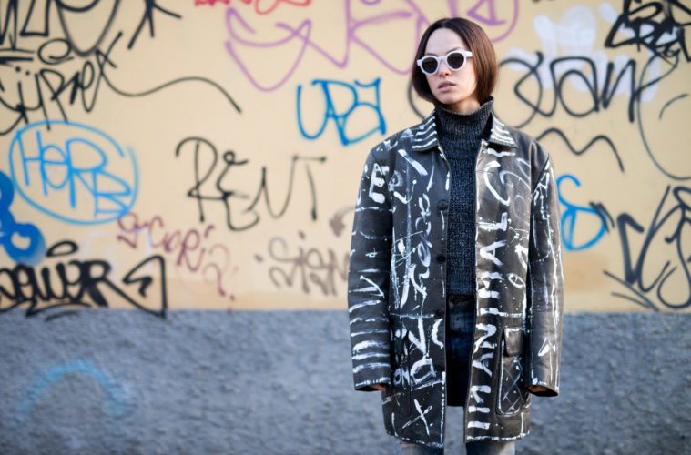 lavinia biancalani, milan fashion wee, street style, the style pusher
