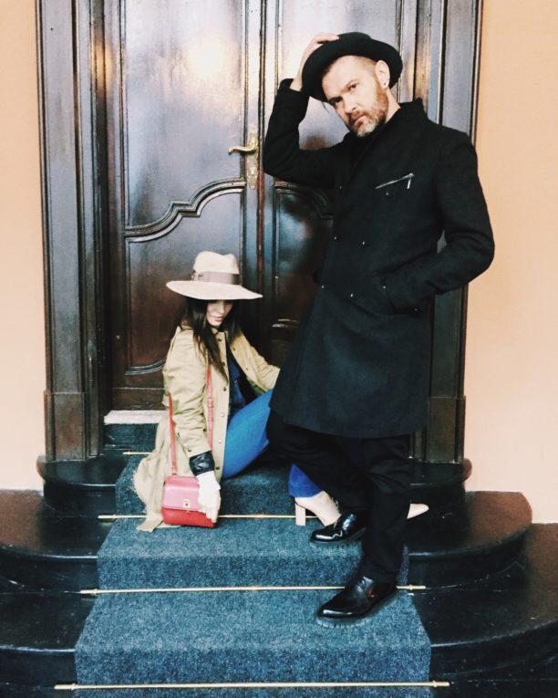lavinia biancalani, andrea mariano, milan fashion week