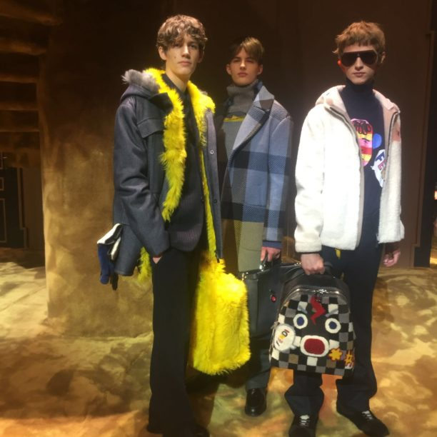 fendi, milan fashion week