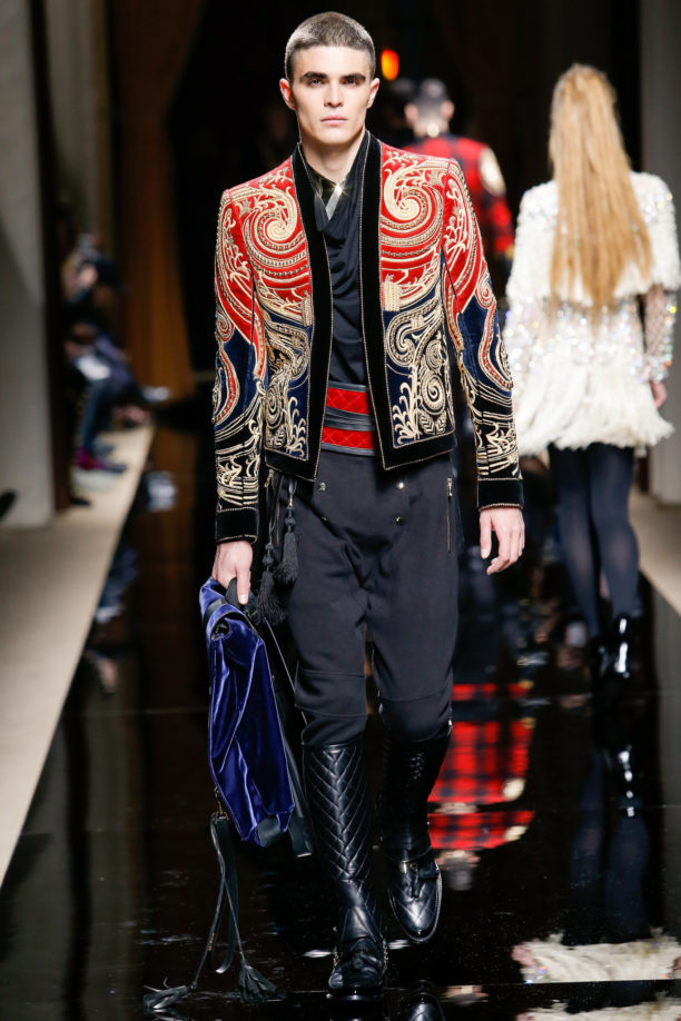pfw, paris men's fashion week, aw 2016, Balmain