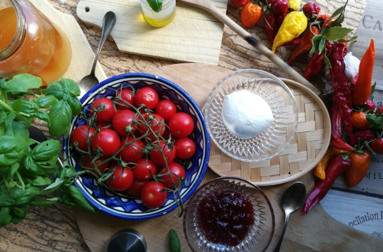 food, lavinia biancalani, viola berti, cooking, the style pusher, caprese
