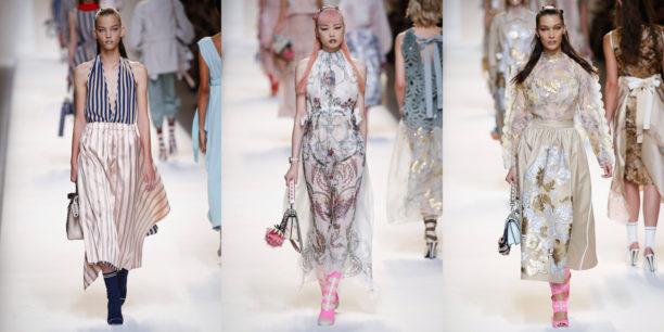 Milano, Milan, style, collezione, lavinia biancalani, the style pusher, runway, lfw, ss17, fashion week, sfilate, p/e 2017, fendi