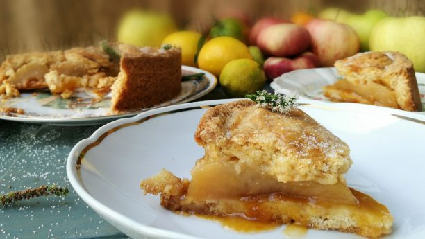 food, lavinia biancalani, viola berti, cooking, the style pusher, crostata, mele, gatti