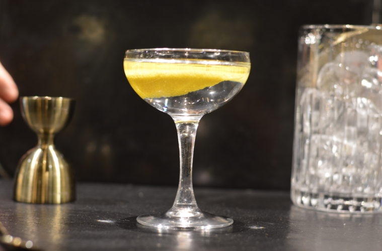 bartender, cocktail, drink, LAVINIA BIANCALANI, THE STYLE PUSHER, gabriele stillitani, gin, vermouth, martini, martini coktail
