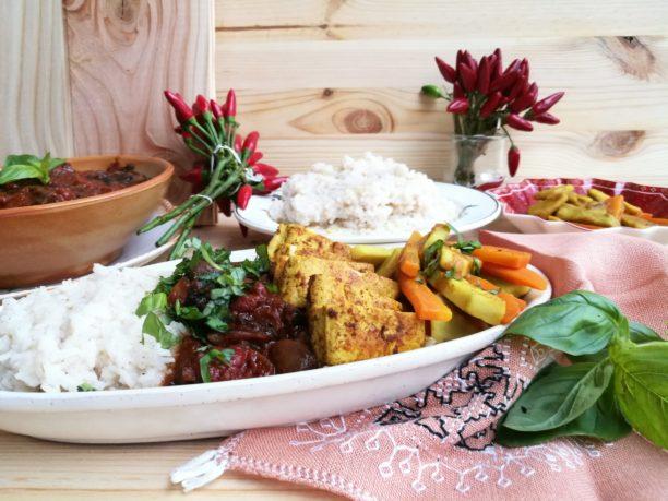 cooking, food, lavinia biancalani, viola berti, the style pusher, vindalhoo, vegan, tofu, india