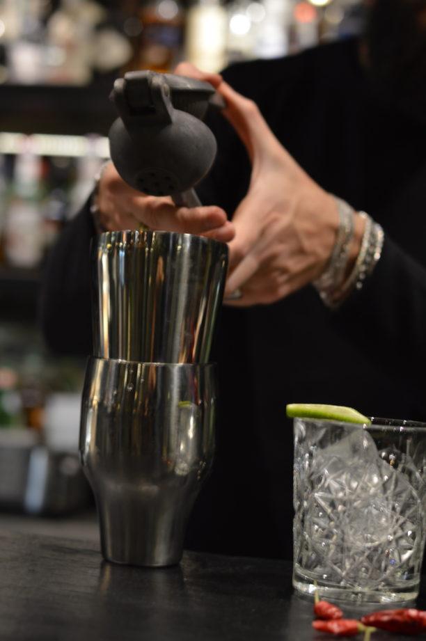 drink, cocktail, mixology, gabriele stillitani, lavinia biancalani, the style pusher, bartender, Jalapeño, margarita, spicy, spezie, lime, tequila