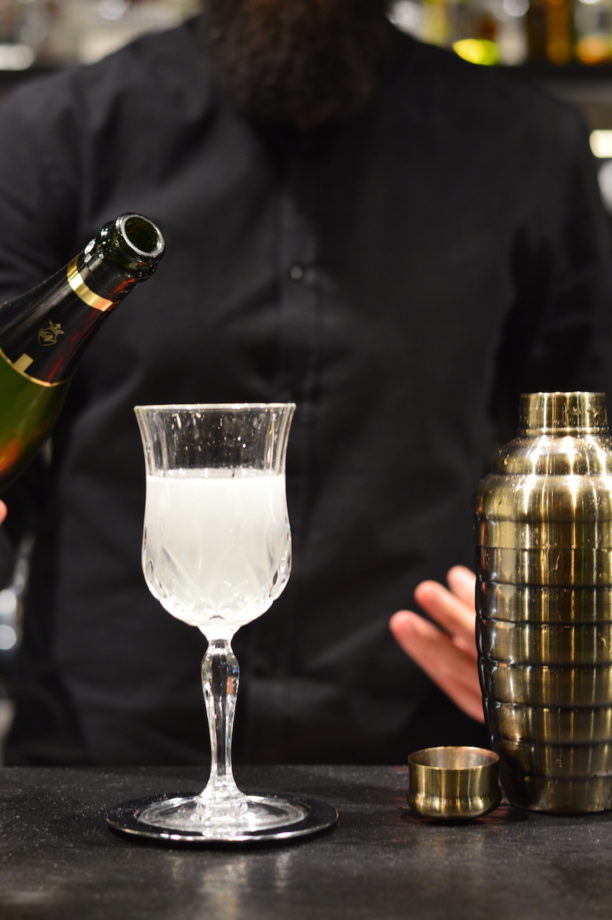 champagne, gin, french 75, capodanno, new year's eve, drink, mixology, gabriele stillitani, cocktail, lavinia biancalani, the style pusher