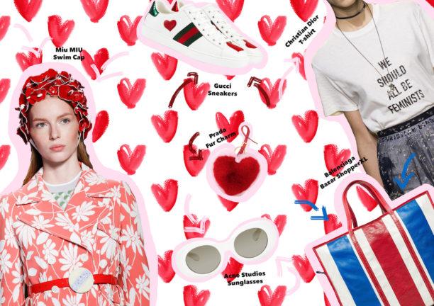 san valentino, fashion gifts, trends, style tips, stylish, lavinia biancalani, the style pusher, domizia vanni