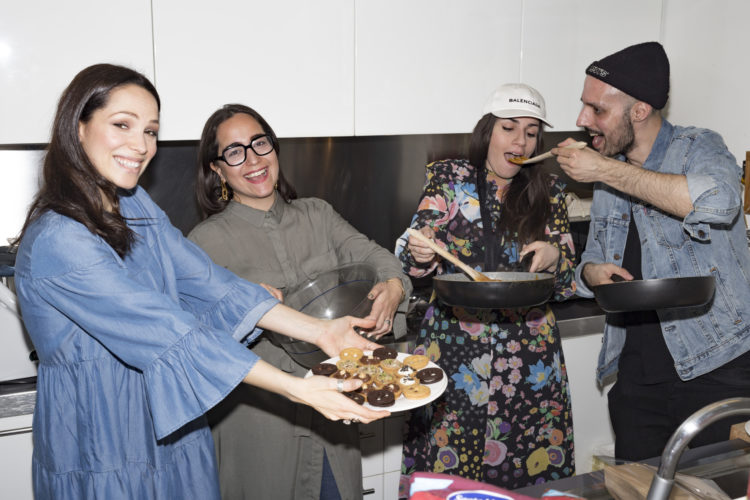 SaturdayBrunchLive, brunch, food, mexico, mexican brunch, guacamole, fajitas, cooking, Andrea Mariano, ramona tabita, Katerfrancers, kitchen trouble, style and trouble, giorgio ciccone, gianluca omodeo, valentina siragusa, carlotta rubaltelli, Lavinia Biancalani, The Style pusher