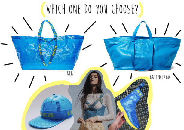balenciaga, ikea, ugly, frakta, demna gvasalia, cristobal balenciaga, domizia vanni, the style pusher, lavinia biancalani, fashion, style tips, stylist