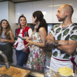 cooking, food, vegan, baciami in cucina, saturdaybrunchlive, hummus, tiramisù, burger, caffè, lavazza, the style pusher, lavinia biancalani