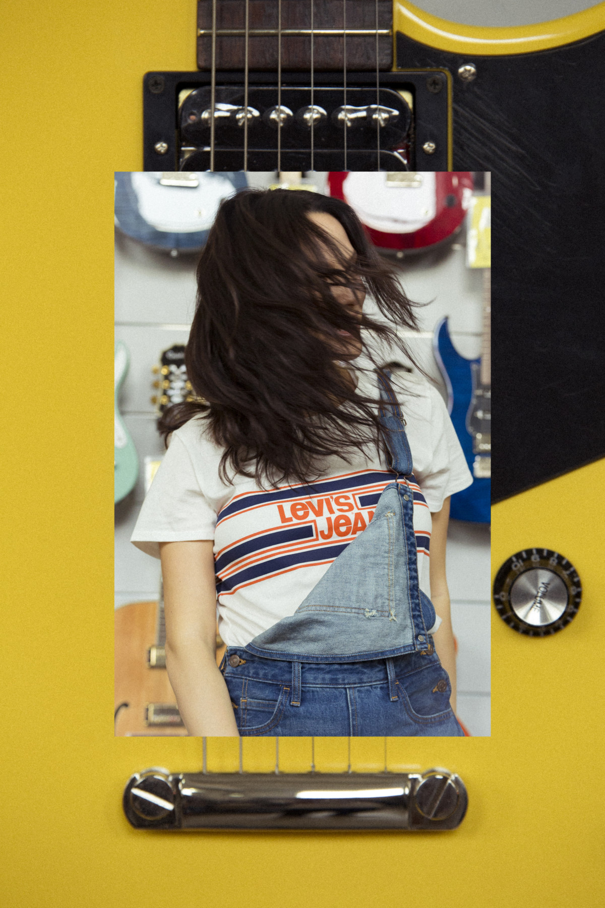 Levi's Orange Tab, avinia biancalani, orange tab, levi's, live in levis, the style pusher, denim