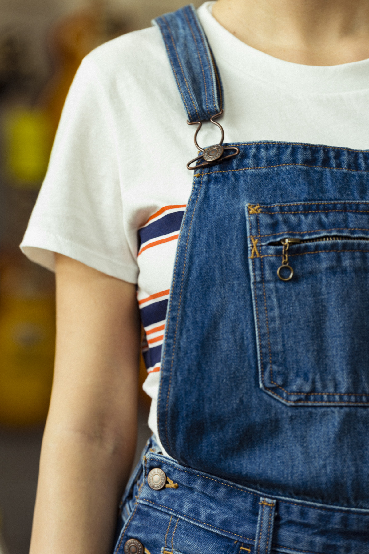 Levi's Orange Tab, lavinia biancalani, orange tab, levi's, live in levis, the style pusher, denim