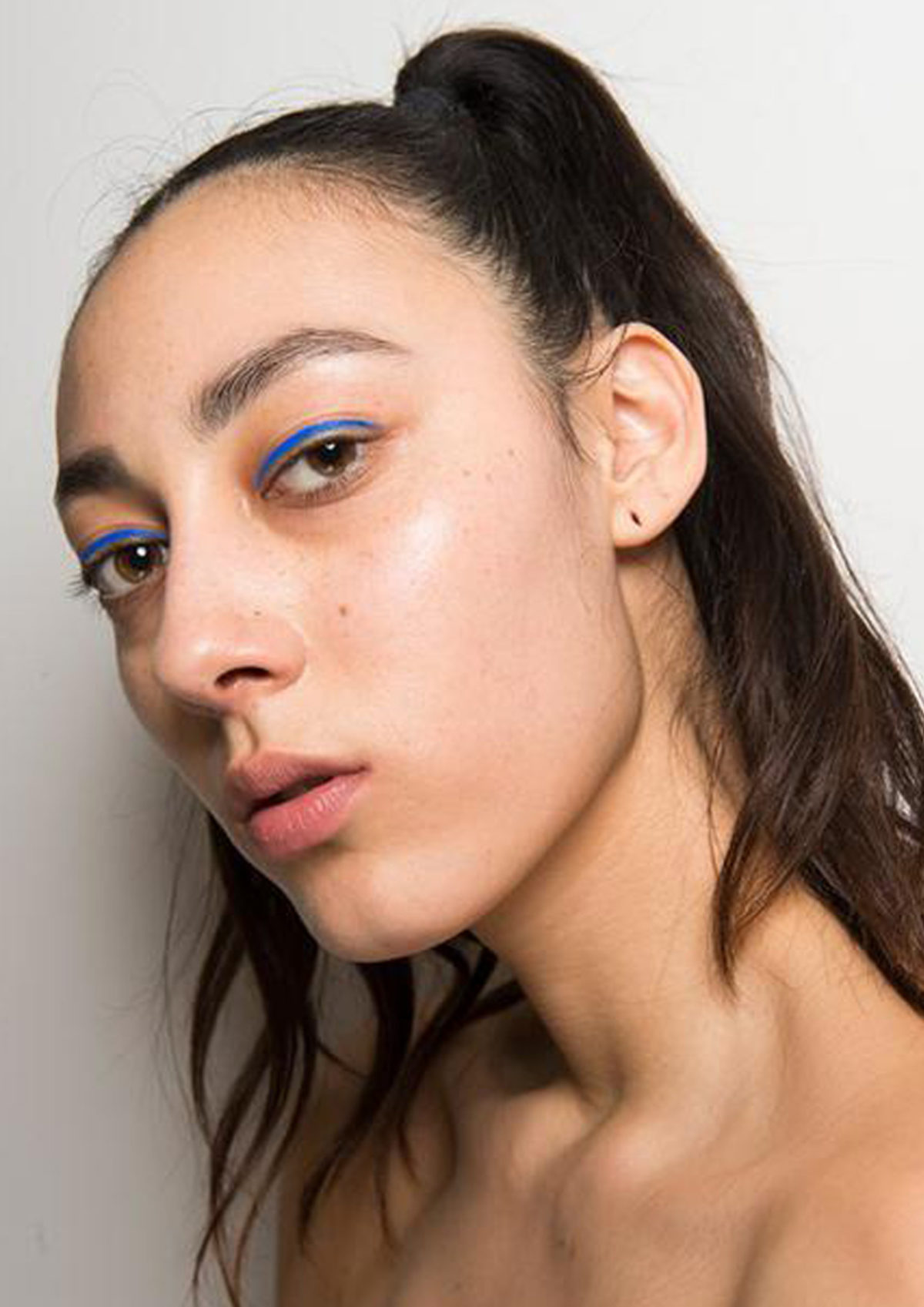 beauty, make up, hair, blu, color, fall 1017, bianca balzano, fall winter 2017, autunno inverno 2017