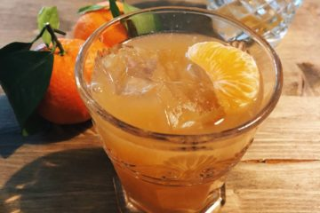Smoky Tangerine, drink, cocktail, gabriele stillitani, mixology, mandarini, mezcal, sciroppo d'agave, video ricetta, video recipe,
