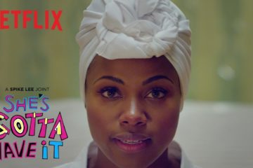 gloria presotto, serie tv, she gotta have it, storie di donne forti, donne, black woman, netflix, nola darling,