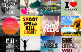 Le 3 migliori App per scrivere sulle foto